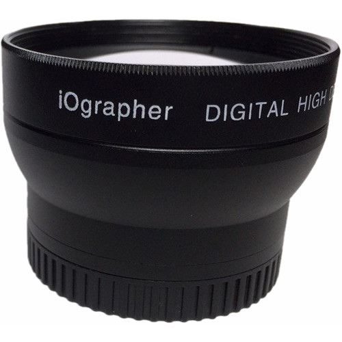 iOgrapher 37mm 2x Telephoto Lens for Mobile Devices