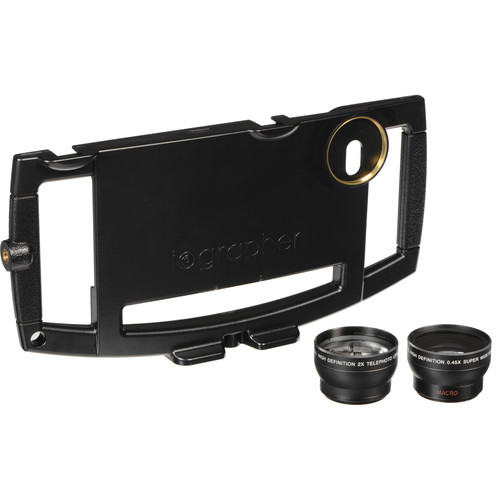 iOgrapher Filmmaking Kit for iPhone 6 Plus/6s Plus with Lenses