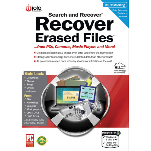 iolo technologies Search & Recover Software