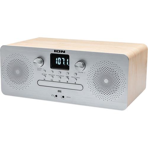 ION Audio Air CD Pro Wireless Desktop CD Audio System