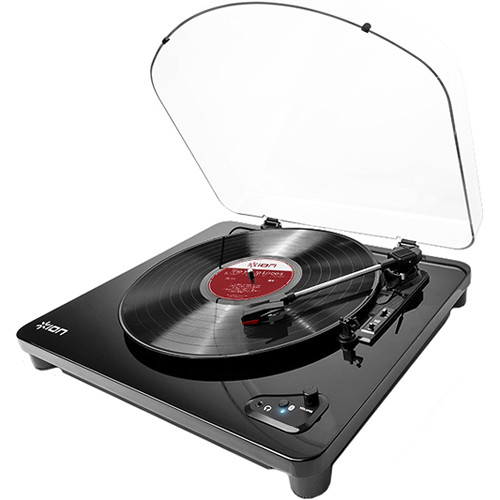 ION Audio Air LP Bluetooth Turntable Kit with Bluetooth Speaker