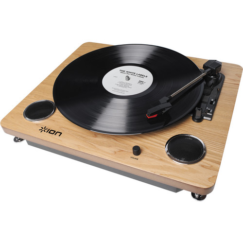 ION Audio Archive LP Digital Conversion Turntable With Stereo Speakers