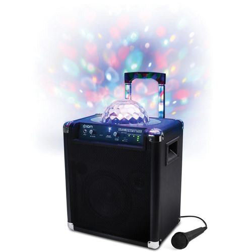 ION Audio Block Party Live - Portable Wireless Speaker System with Party Lights