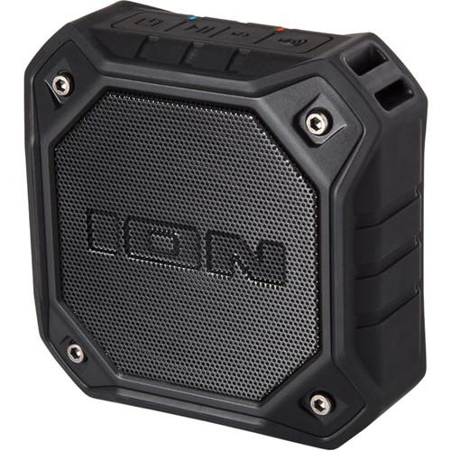 ION Audio Dunk Waterproof Portable Bluetooth Speaker (1-Pair) (Black)