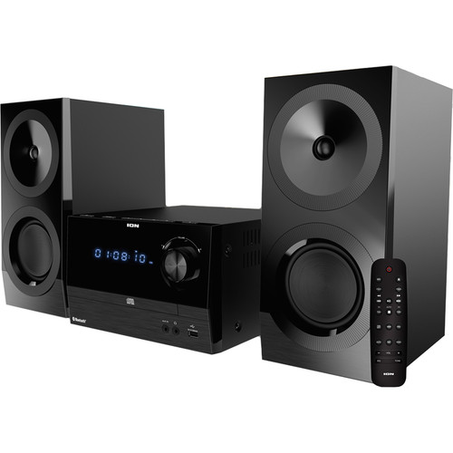 ION Audio iAS01 CD/FM Stereo System with Bluetooth