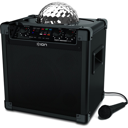 ION Audio Party Rocker Plus - Wireless Speaker System with Built-In Light Show