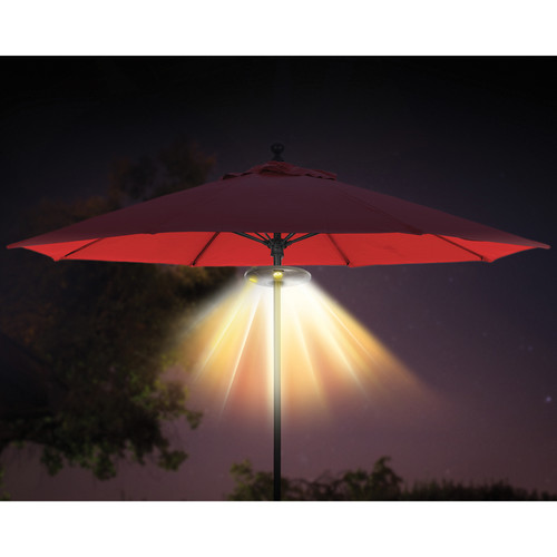 ION Audio Patio Mate Umbrella Light with Bluetooth Stereo Speakers