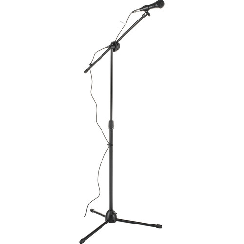 ION Audio Microphone and Stand Bundle
