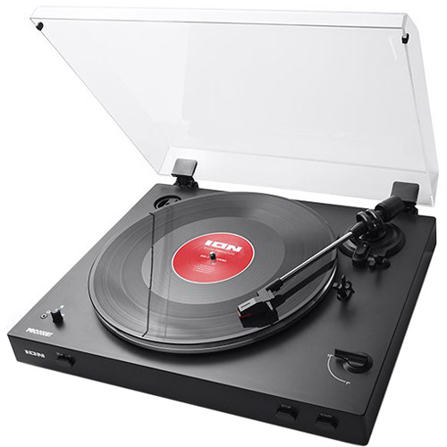 ION Audio PRO200BT Fully Automatic Two-Speed Turntable with Built-In Preamp