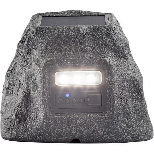 ION Audio Solar Stone Glow All-Weather Wireless Speaker Pair Kit