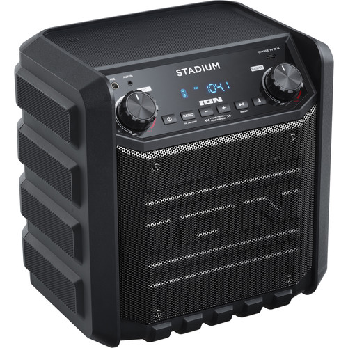 ION Audio Stadium Wireless Rechargeable Speaker System (Black)