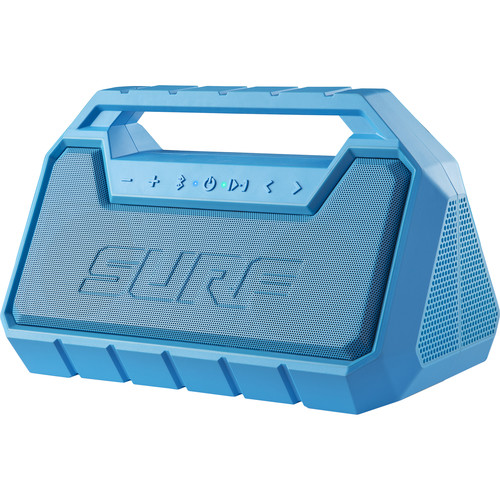 ION Audio Surf Floating Waterproof Wireless Stereo Boombox (Blue)