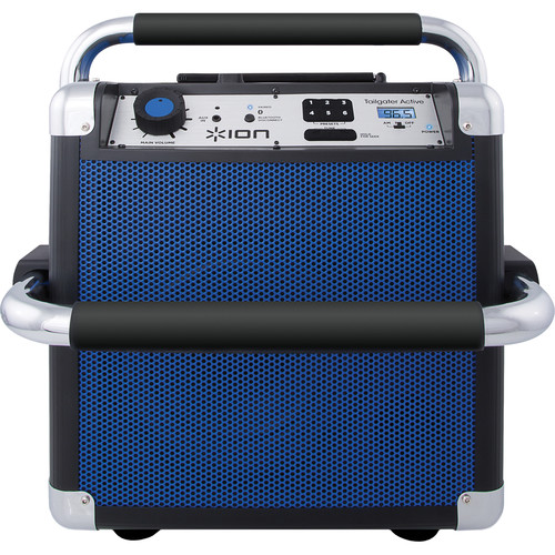 ION Audio Heavy Duty Wireless Speaker System (Tailgater Active, Blue)