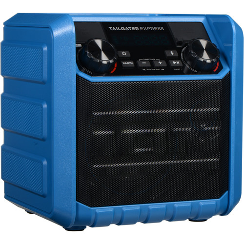 ION Audio Tailgater Express Compact Portable Bluetooth Speaker System (Blue)