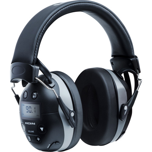 ION Audio Tough Sounds II Hearing Protection Headphones with Bluetooth & Radio