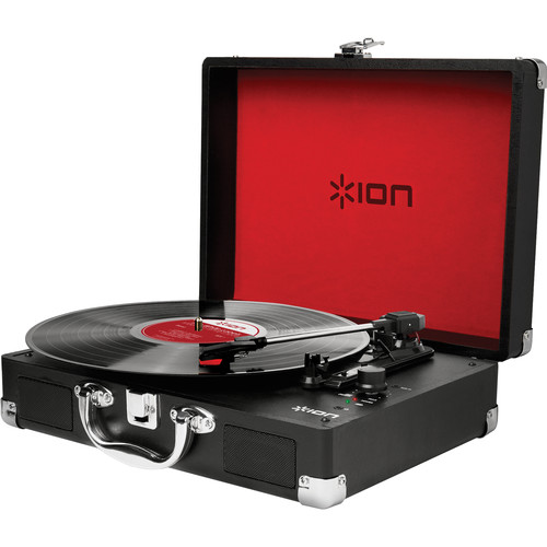 Ion Audio Vinyl Motion Portable Suitcase Turntable