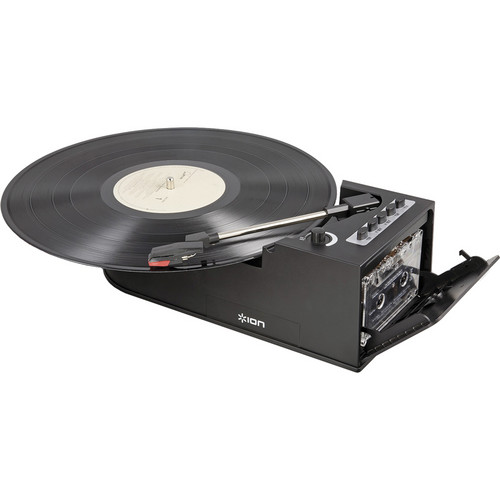 ION Audio Digital Conversion Turntable with Cassette Deck