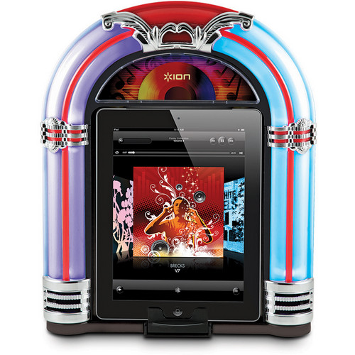 ION Audio Jukebox Retro Speaker Dock for iPad, iPhone, and iPod