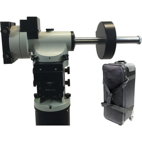 iOptron IEQ45-AZ Pro Dual EQ/AZ GoTo Mount with Tri-Pier & Carrying Case