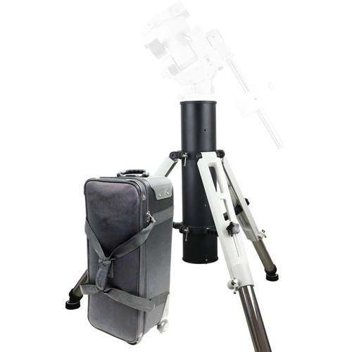 iOptron Tri-Pier for GoTo Mountswith Rolling Case (White/Black)