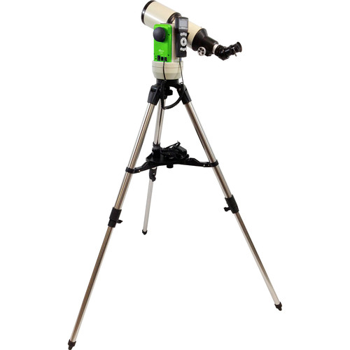 iOptron Cube-E-R80 SmartStar 80mm f/5 Refractor Telescope with GoTo Mount (Terra Green)