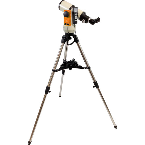 iOptron Cube-E-R80 SmartStar 80mm f/5 Refractor Telescope with GoTo Mount (Cosmic Orange)
