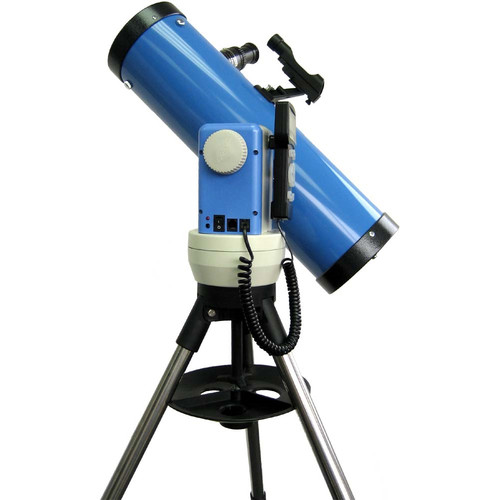iOptron SmartStar Cube-E-N114 Newtonian Telescope System with Alt-Azimuth Mount (Blue)
