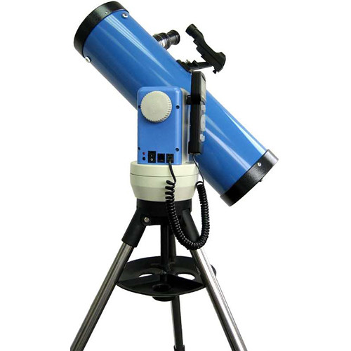 iOptron SmartStar Cube-G-N114 Newtonian Telescope System with Alt-Azimuth Mount (Blue)