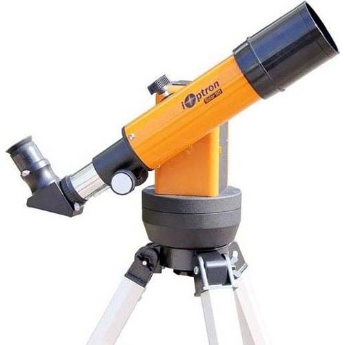 iOptron Solar 60 60mm f/6 Achro Refractor GoTo GPS Telescope with Eyepiece Imager