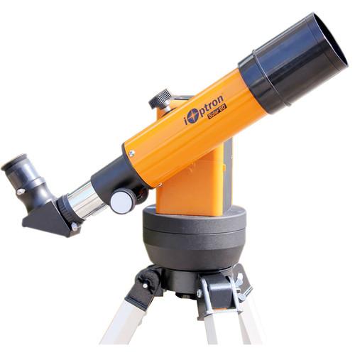iOptron Solar 60 60mm f/6 Achro Refractor GoTo GPS Telescope with Solar Filter