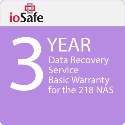 IoSafe 218 Nas 3-Year Drs Basic Warranty
