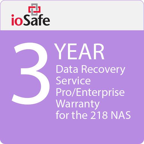 IoSafe 218 Nas 3-Year Drs Pro (Enterprise) Warranty