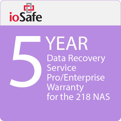 IoSafe 5-Year Data Recovery Service Pro Warranty Upgrade for the 218 NAS