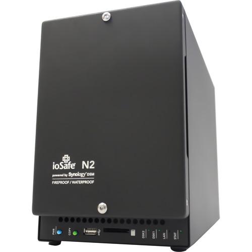 IoSafe 8TB N2 NAS Storage Solution with 1 Year Synology DSM