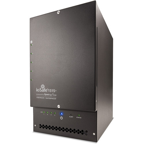 IoSafe 1515+ 30TB 5-Bay NAS Server with 1-Year DRS Pro Warranty (5 x 6TB)