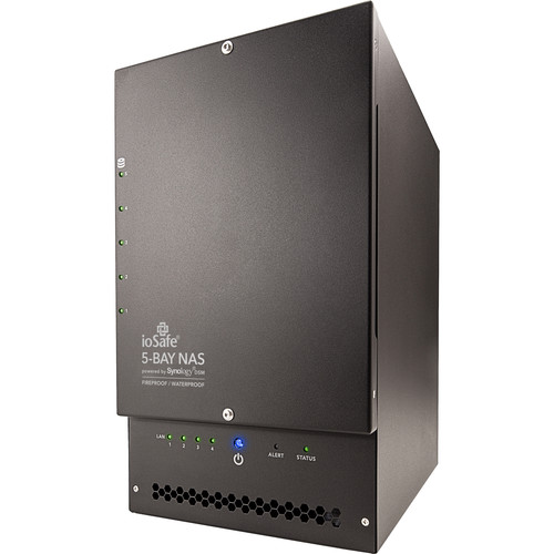 IoSafe 1517 90TB 5-Bay NAS Array with Two x517 Expansion Chassis (15 x 6TB, Enterprise NAS Drives)