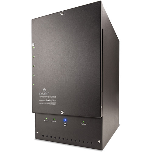 IoSafe x517 50TB 5-Bay Expansion Chassis (5 x 10TB, Standard NAS Drives)