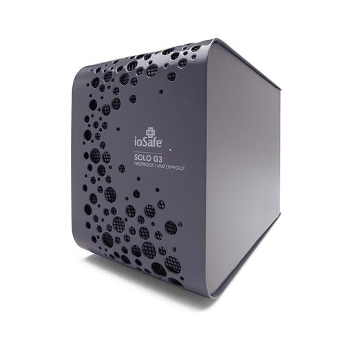 IoSafe SOLO G3 Fireproof/Waterproof USB 3.0 External Hard Drive (4TB)
