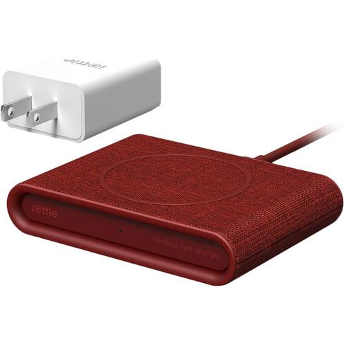 iOttie iON Wireless Mini Fast Charging Pad (Red)
