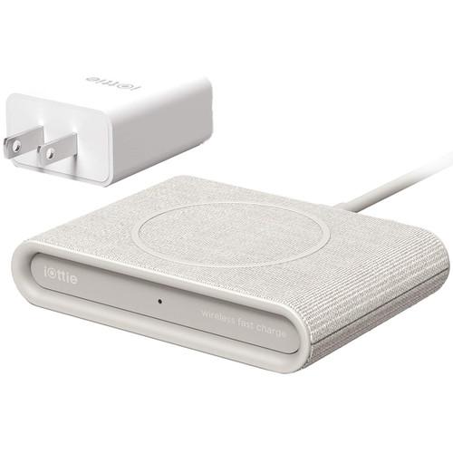 iOttie iON Wireless Mini Fast Charging Pad (Tan)