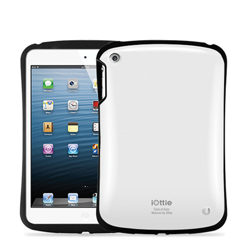 iOttie Macaron Protective Case Cover for iPad mini (White)