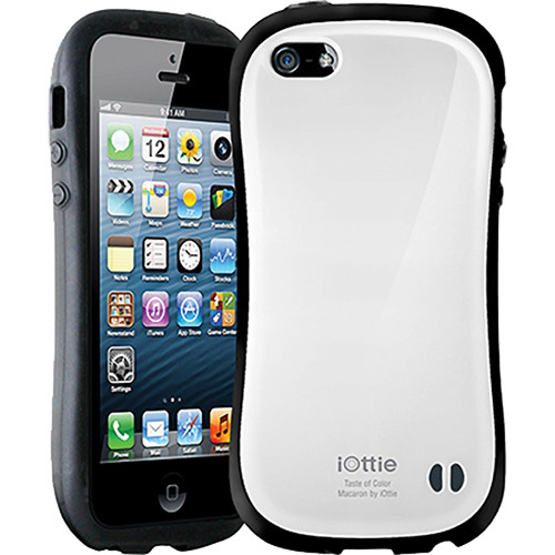 iOttie Macaron Protective Case Cover for iPhone 5 (White)