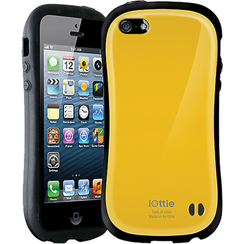 iOttie Macaron Protective Case Cover for iPhone 5 (Yellow)