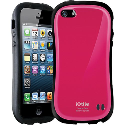 iOttie Macaron Protective Case Cover for iPhone 5 (Magenta)