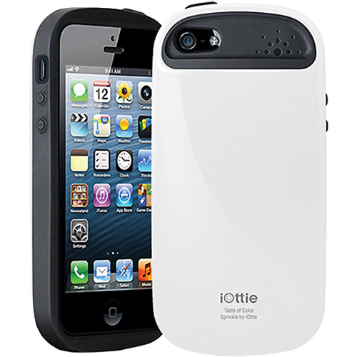 iOttie Sprinkle Protective Case Cover for iPhone 5 (White)