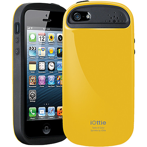 iOttie Sprinkle Protective Case Cover for iPhone 5 (Yellow)