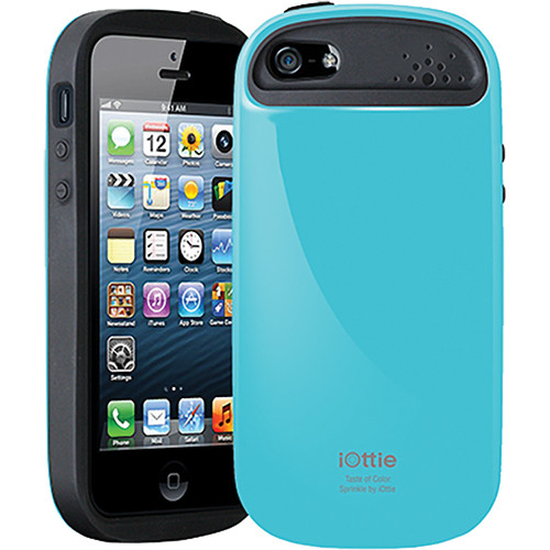 iOttie Sprinkle Protective Case Cover for iPhone 5 (Sky Blue)