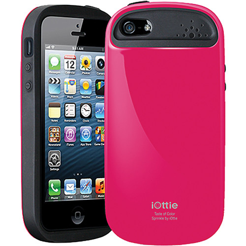 iOttie Sprinkle Protective Case Cover for iPhone 5 (Magenta)
