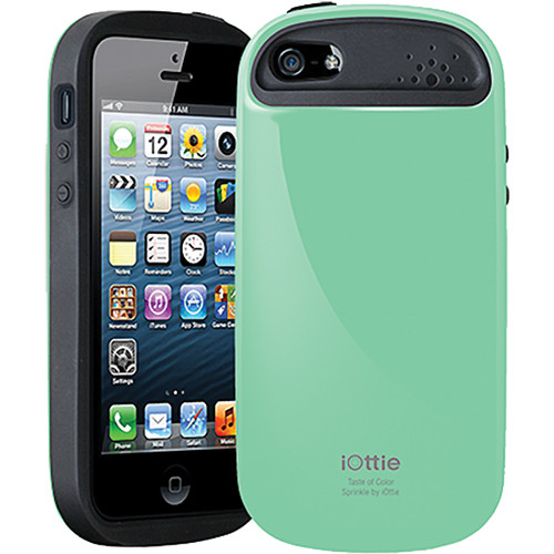 iOttie Sprinkle Protective Case Cover for iPhone 5 (Mint)