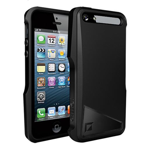 iOttie Notch Protective Case Cover for iPhone 5 (Phantom Black)